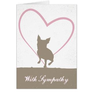 Boston Terrier Pet loss sympathy card