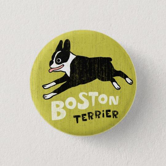 Boston Terrier Pinback Button