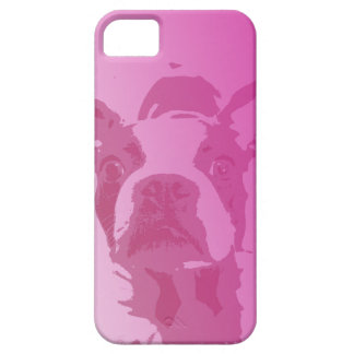 Boston Terrier Pink iPhone 5 iPhone 5 Case