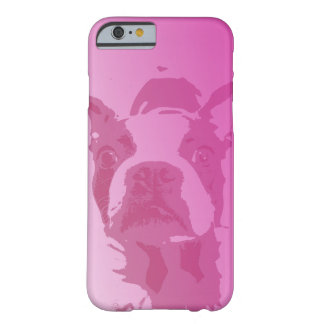 Boston Terrier Pink iPhone 6 case