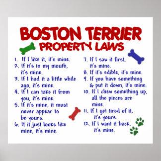 BOSTON TERRIER PL2 PRINT