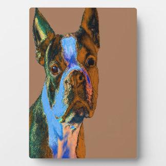 Boston Terrier Plaque