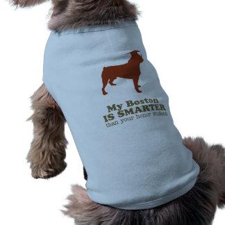 Boston Terrier Playera Sin Mangas Para Perro