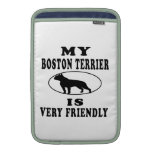 Boston Terrier.png Funda Para Macbook Air