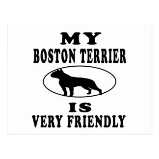 Boston Terrier.png Postcard