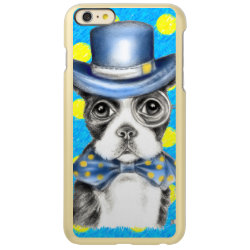Incipio Feather® Shine iPhone 6 Plus Case with Boston Terrier Phone Cases design