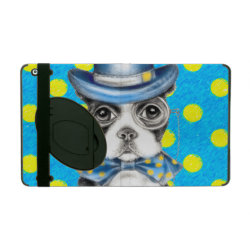 Powis iCase iPad Case with Kickstand with Boston Terrier Phone Cases design