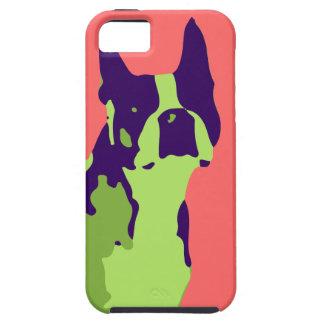 Boston Terrier Pop Art iPhone 5 Cover