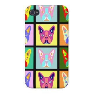 Boston Terrier Pop Art iPhone 4 Case