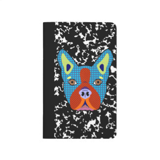 Boston Terrier Pop Art Journal