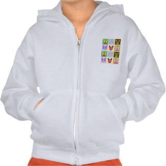 Boston Terrier Pop Art Sweatshirt