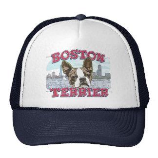 Boston Terrier por los estudios de Mudge Gorras De Camionero