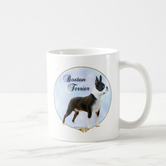 Boston Terrier Portrait Coffee Mug