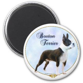 Boston Terrier Portrait Magnet