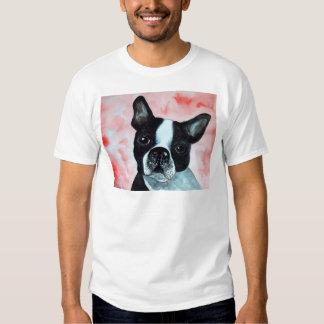 Boston Terrier Portrait Shirt