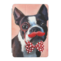 iPad mini Cover with Boston Terrier Phone Cases design