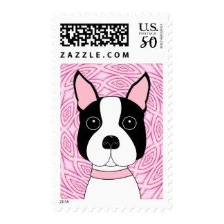 Boston Terrier Postage