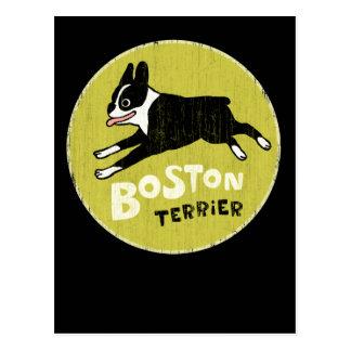 Boston Terrier Postal