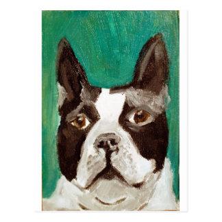 Boston Terrier Post Cards
