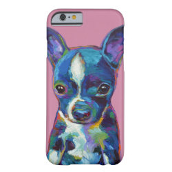 Boston Terrier Puppy Barely There iPhone 6 Case
