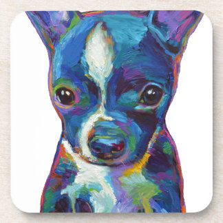 Boston Terrier Puppy Beverage Coaster
