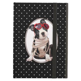 Boston Terrier Puppy Case For iPad Air