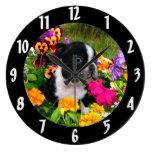 Boston Terrier puppy Clocks