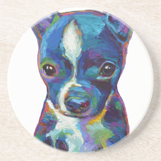 Boston Terrier Puppy Coaster
