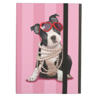 Boston Terrier Puppy iPad Air Covers