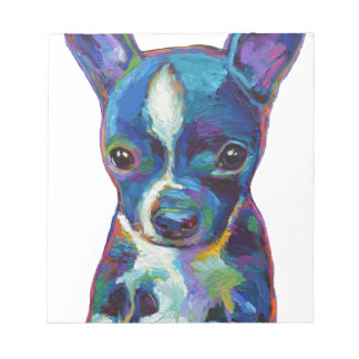 Boston Terrier Puppy Note Pad