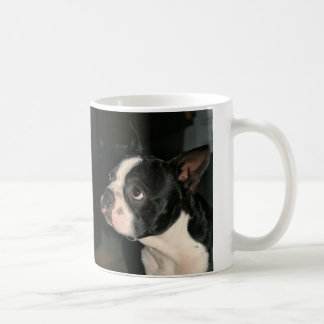 Boston Terrier raspberry  Coffee Mug Cutie