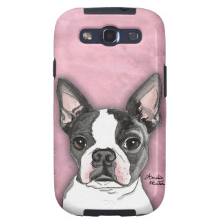 Boston Terrier Samsung Galaxy S3 Covers