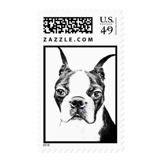 Boston Terrier Sello