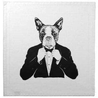 Boston Terrier Servilletas