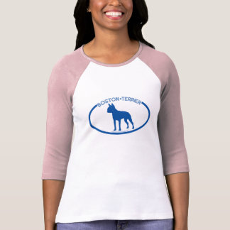 Boston Terrier Silhouette T-Shirt