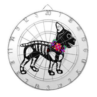 Boston Terrier Skeleton Dartboards
