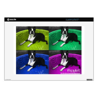 Boston Terrier Skins For Laptops