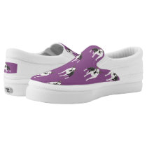 Boston Terrier Slip-On Sneakers
