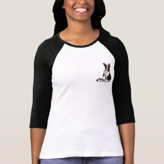 Boston terrier small stamp t-shirts