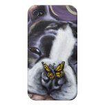 Boston Terrier Smile Case For iPhone 4