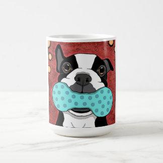 Boston Terrier Squeak Coffee Mug