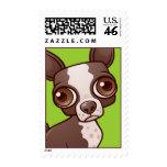 Boston Terrier Stamp