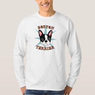 Boston Terrier Starburst T-Shirt