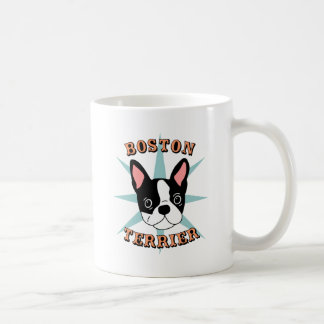 Boston Terrier Starburst Taza