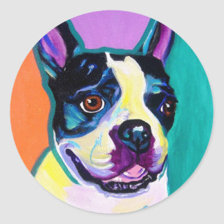 Boston Terrier Sticker