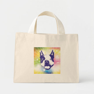 Boston Terrier Sunburst Bags