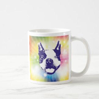 Boston Terrier Sunburst Coffee Mug