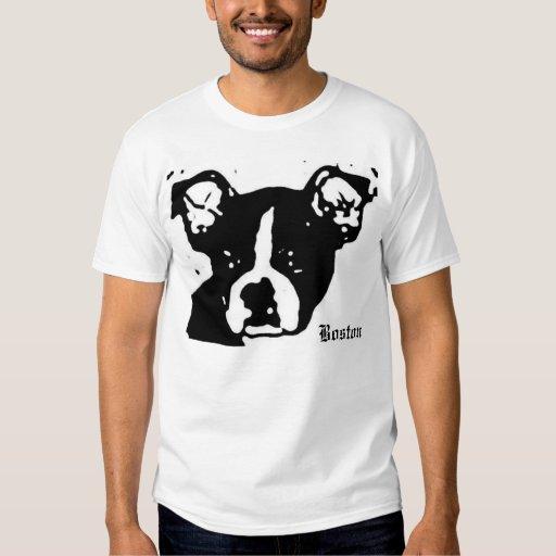 Boston terrier t shirt zazzle for Boston rescue 2 t shirt