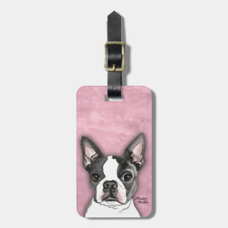 Boston Terrier Tags For Luggage