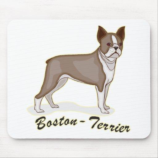 Boston Terrier Tapetes De Raton